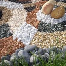 Природный, натуральный камень - мраморная галька