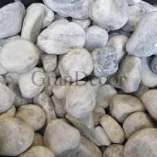 Мраморна галька Bardiglio серая 25-40мм