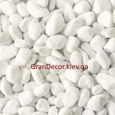 Мраморная галька белая Каррара 15-25 мм