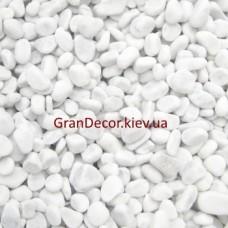 Мраморная галька белая Каррара 7-15 мм