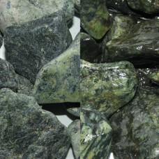 Галька мраморная зеленая греческая Рептилия 20-40 мм