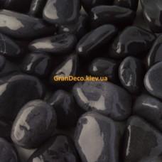 Мраморная галька черная 15-25 мм