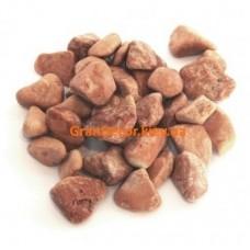 Декоративный камень галька мраморная красная Верона 15-25 мм