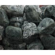 Мраморная галька Зеленая Альпи 150-400 мм