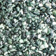 Камни декоративные Зеленая галька Альпи 1-4 мм