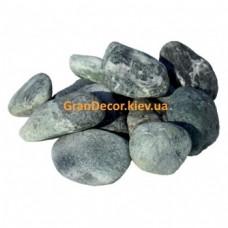 Натуральные камни галька мраморная зеленая Альпи 25-40 мм