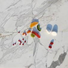 Плитка белая Calacatta Michelangelo