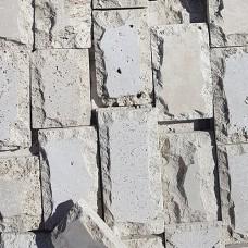 Облицовочный камень из травертина листований бежевый