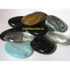 Декоративные камушки стеклянные микс