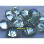 Стеклянные камни декоративные прозрачные
