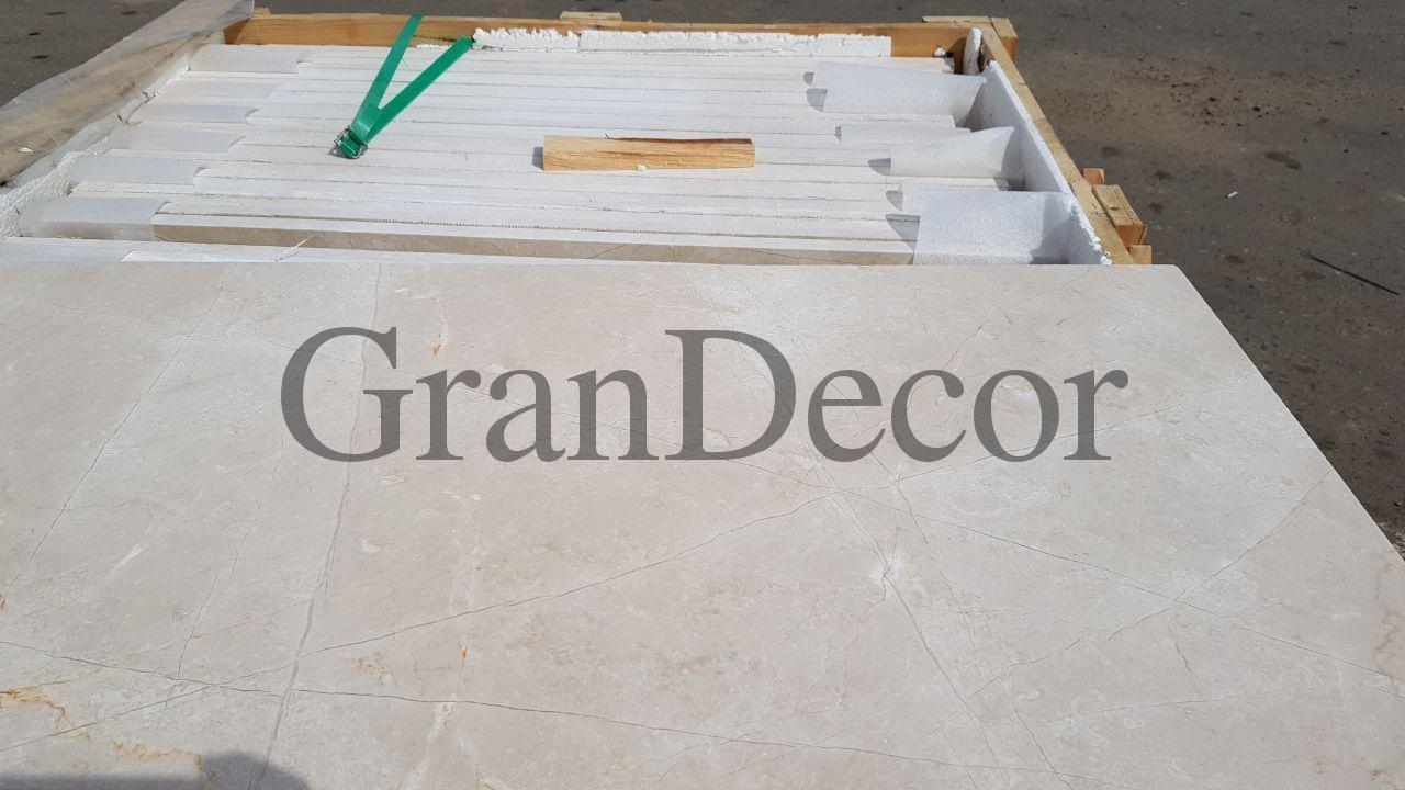 Crema Nouva мраморная плитка  сайт Grandecor